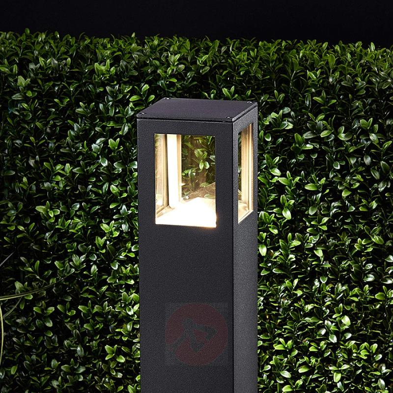 Nicola rectangular LED pathway light, IP54 - outdoor-led-lights