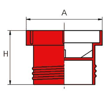 N460 -Bouchons filetés raccords norme MS 2192 - Bouchons filetés