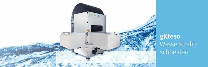 Wasserstrahlschneidmaschine für 3D-Teile - null
