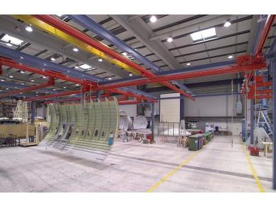 Sistema di trasporto KBK ad elementi componibili - Modulare e versatile– portate fino a 3200 kg - Demag KBK