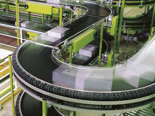 Siegling Transilon - banda curva - Siegling Transilon, cintas transportadoras y de proceso, banda curva