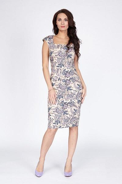 Женское летние платье LalaStyle 1164-86 - летние платья из хлопка