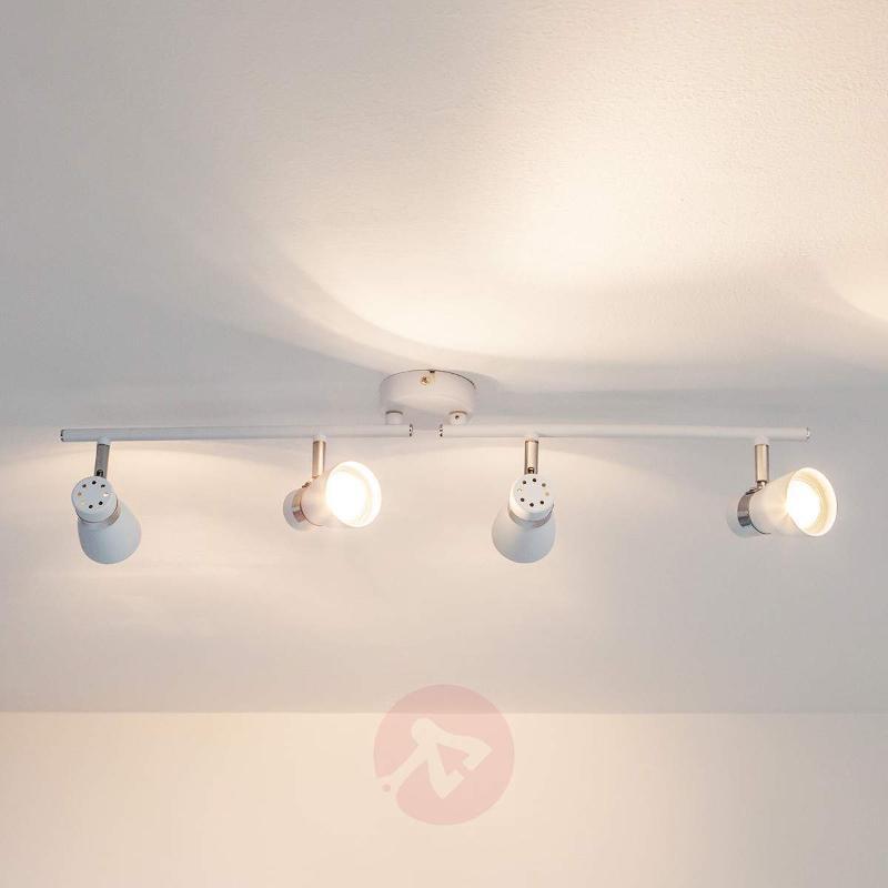 Arjen GU10 LED ceiling light, 4-bulb - Ceiling Lights