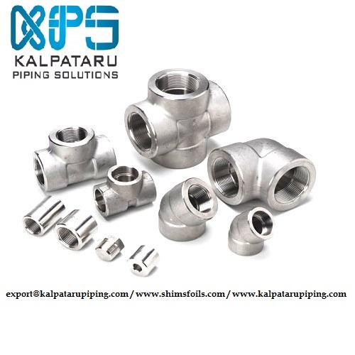 INCONEL FORGED FITTINGS - INCONEL SOCKETWELD FITTINGS - INCONEL THREADED FITTINGS - ASTM B564