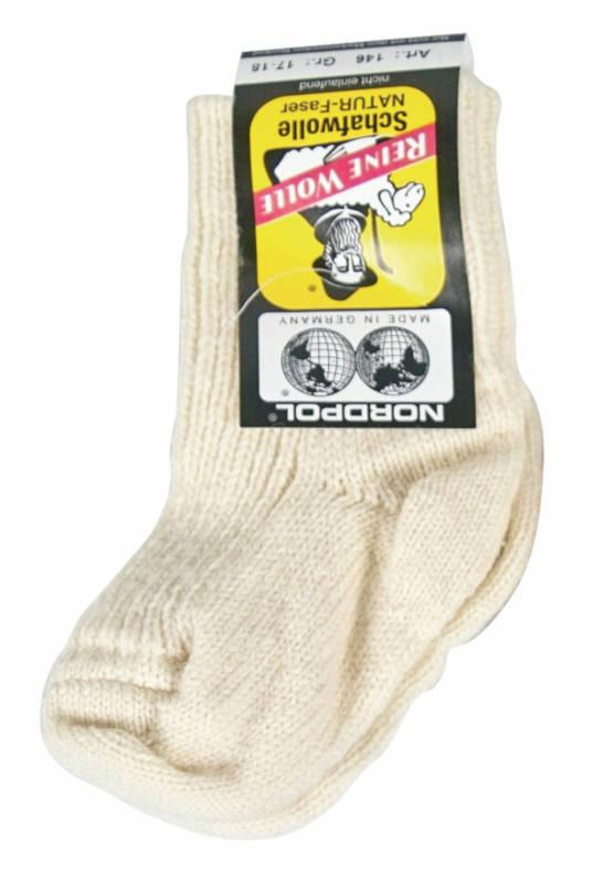 5150 - Made in Germany: Pure New Wool Baby Socks - Enjoy nature at its best! High-quality socks made in Germany. Soft and warming.