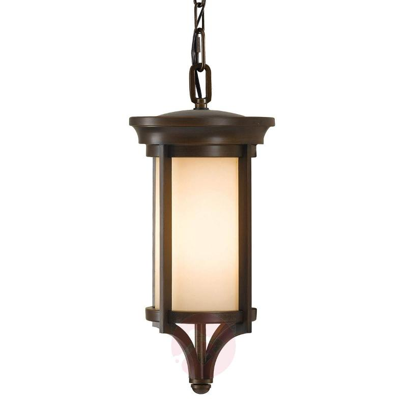 Stylish hanging lamp Merrill for outdoor use - Outdoor Pendant Lighting