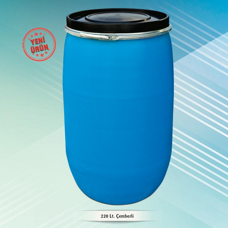 220 lt Plastic Open Head Drum -