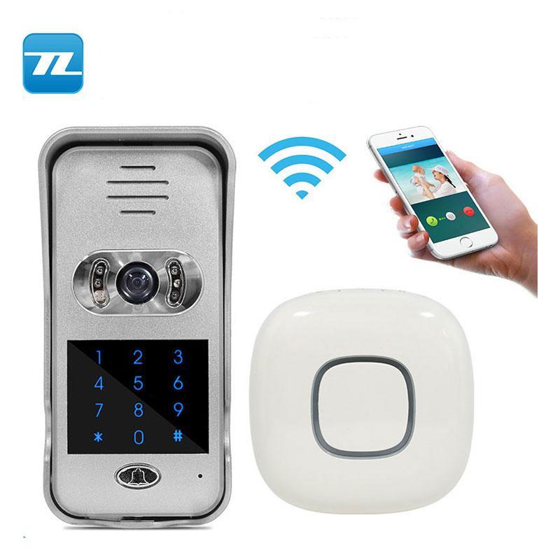TL-WF02 - IP / WIFI smart phone control doorbell video wifi intercom