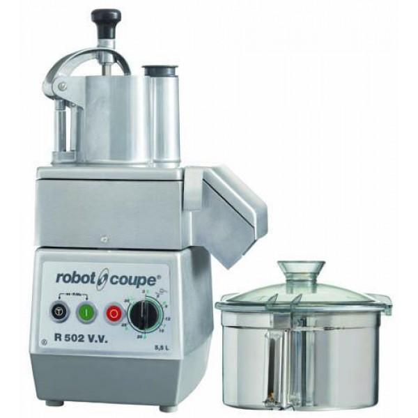 COMBINÉS : CUTTER & COUPE-LÉGUMES - R 502 V.V. - Combinés: cutter & coupe-légumes - ROBOT COUPE