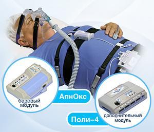 Регистратор физиологических сигналов во время сна «АпнОкс» -