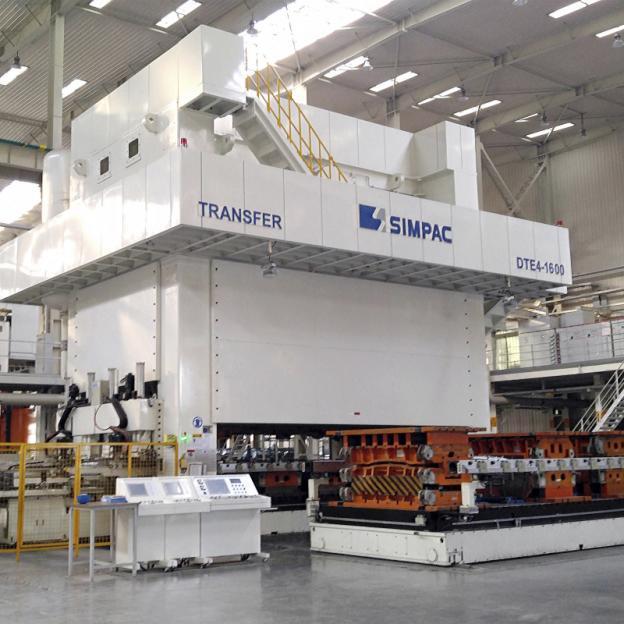 Exzenterpressen_DE/DTE-Baureihe - Exzenterpressen / 4.000-16.000 kN / Zuverlässig und wirtschaftlich