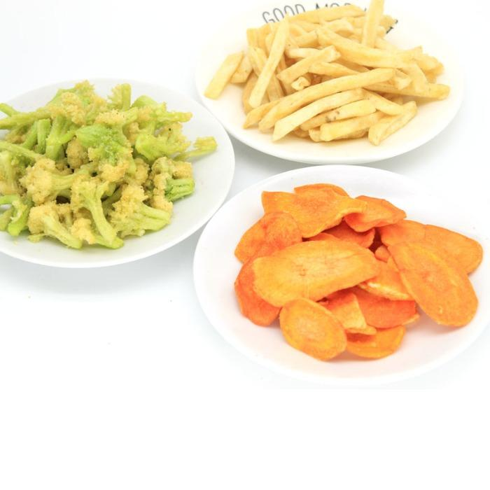 Vacuum fried chips - Import- export
