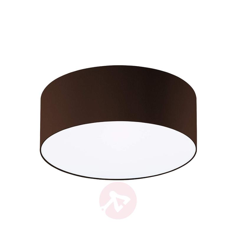 Mara Ceiling Light Diameter 40 cm Mocha Brown - design-hotel-lighting