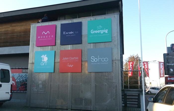 Panneau belgique fabricant producteur entreprises for Fabricant panneau publicitaire exterieur