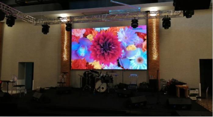 Led kijelző esküvői termekhez - Mini Pixel AVA LED kijelzők