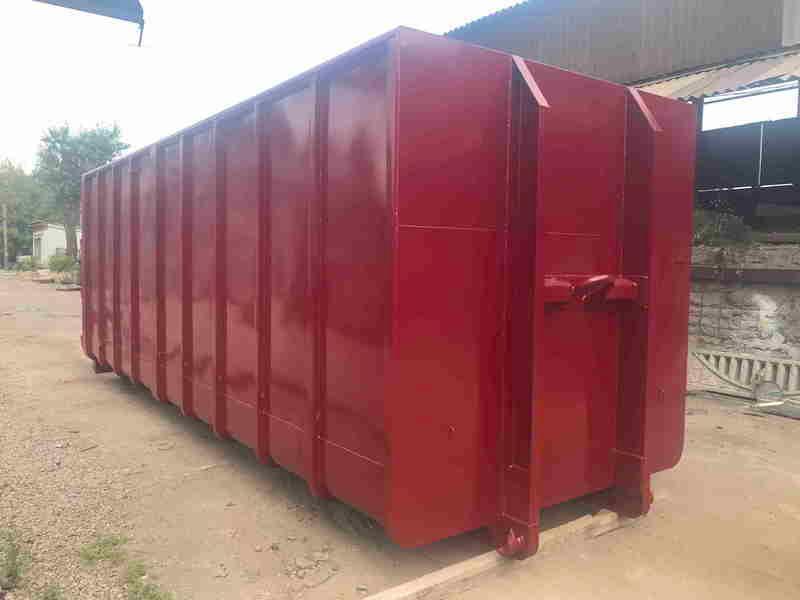 Контейнер металлический роликовый - открытого типа для сбора строительных, крупногабаритных отходов и других материа