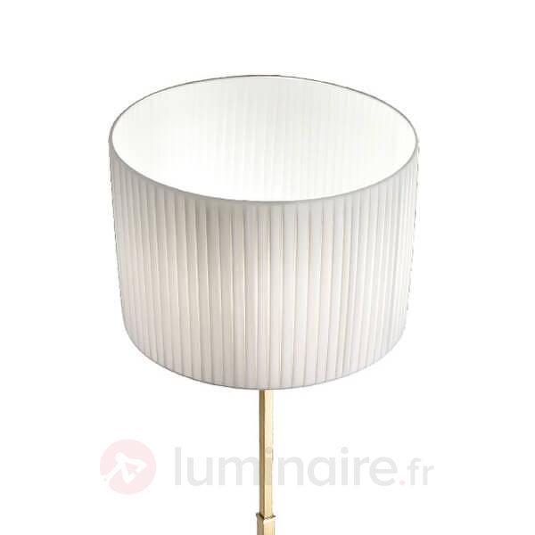 Sand - lampadaire avec structure en laiton - Lampadaires en tissu