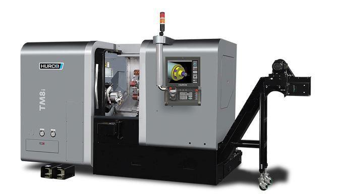Drehmaschine - TM 8i - Die ideale Maschine für die Dreh-Bearbeitung mittelgroßer Teile