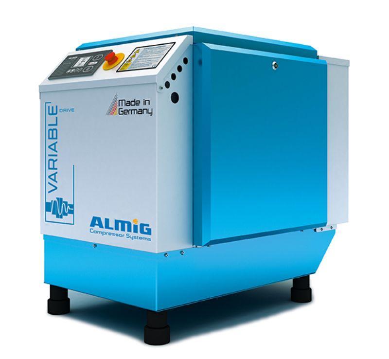 Schroefcompressor met frequentiesturing - Betrouwbaar en energiezuinig, geschikt voor continu draaien
