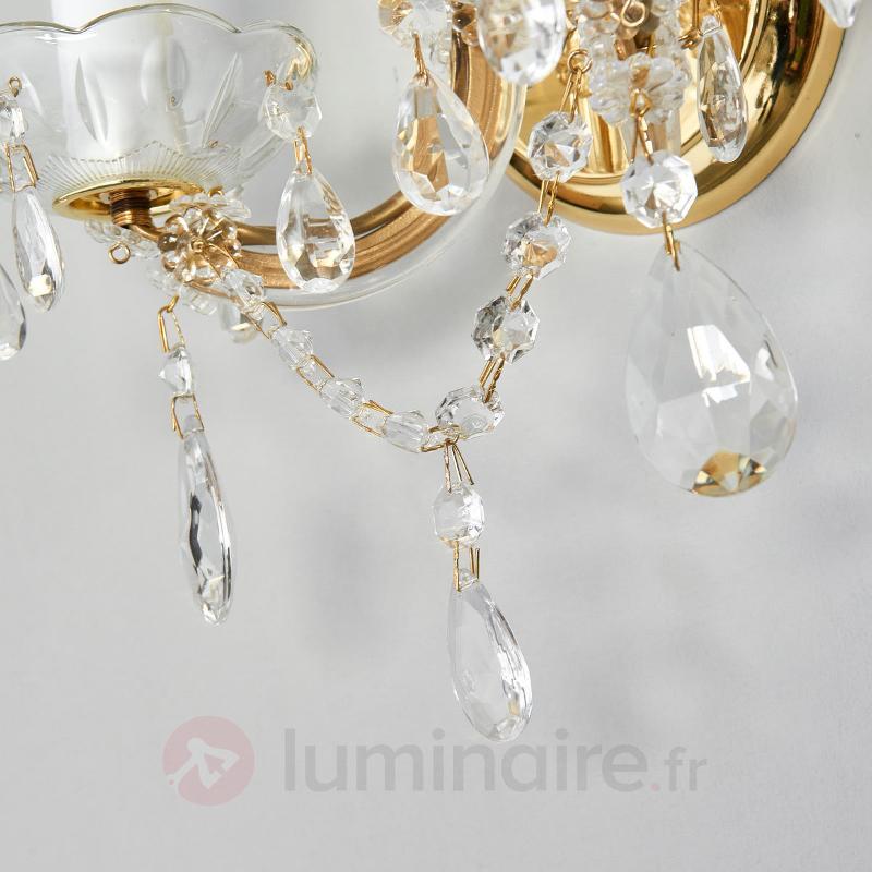 Applique cristal DOLORES, 2 lampes - Appliques en cristal