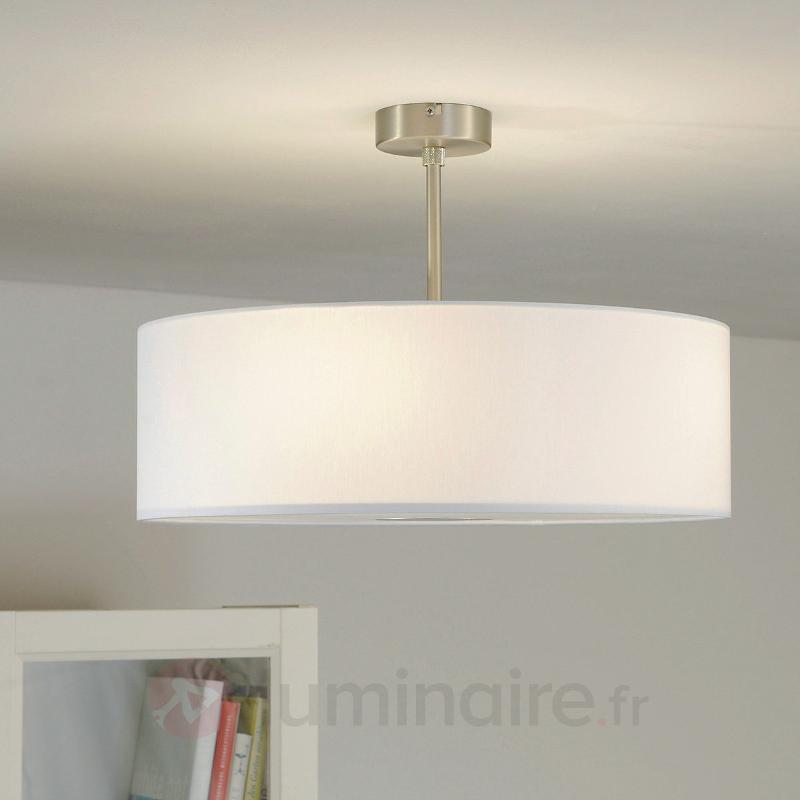 Plafonnier LED blanc Gala - made in Germany - Plafonniers en tissu