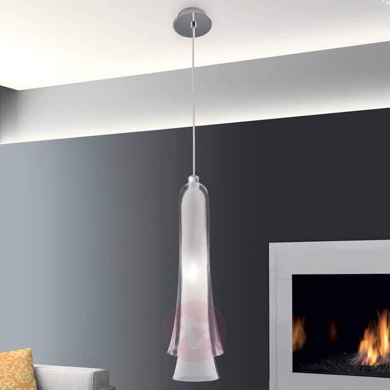 Magical hanging light Tubular Bells 1-bulb - Pendant Lighting