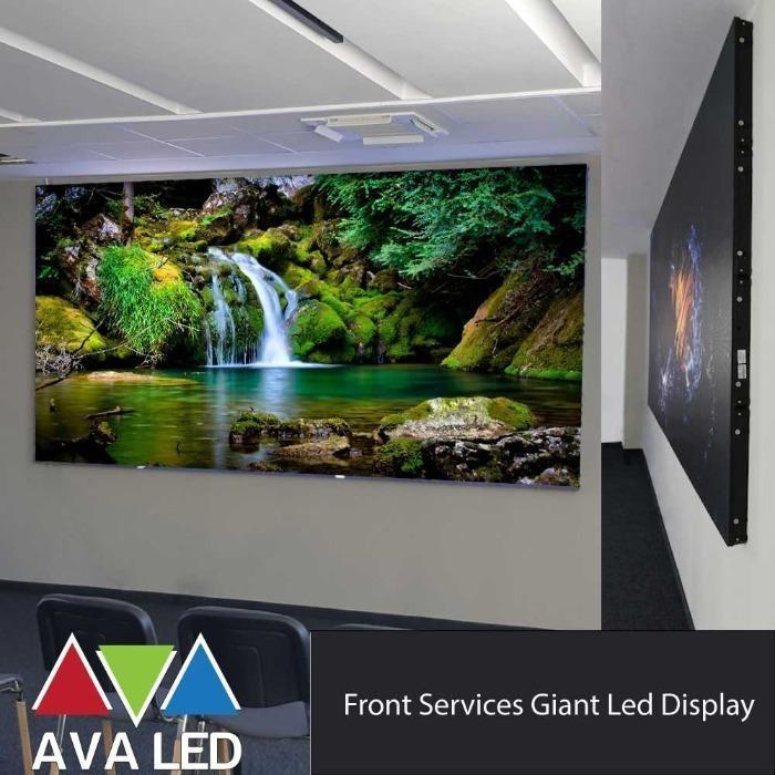 AVA LED серия TN-PRO-IF - Вътрешен AVA LED дисплей, преден сервизен монтаж