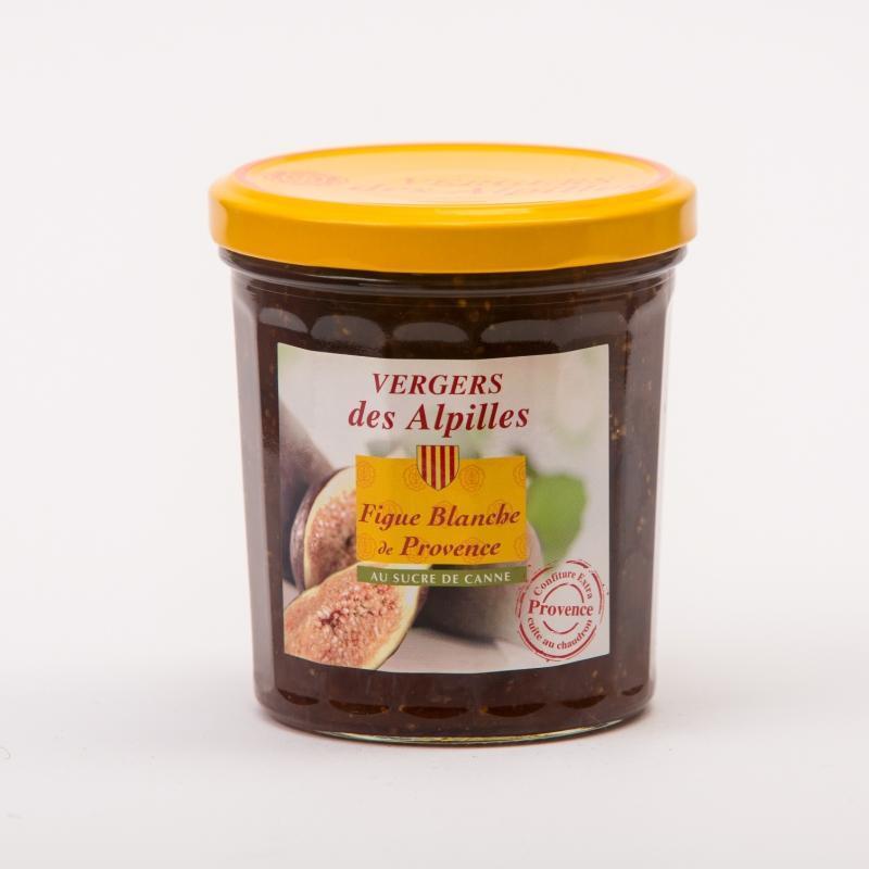 Vergers des Alpilles - Figue Blanche de Provence - Confitures au sucre de canne