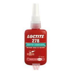 Loctite 278 (Threadlocking adhesives) - Hard-to-dismantling high temp medium-viscosity adhesive for securing threads.