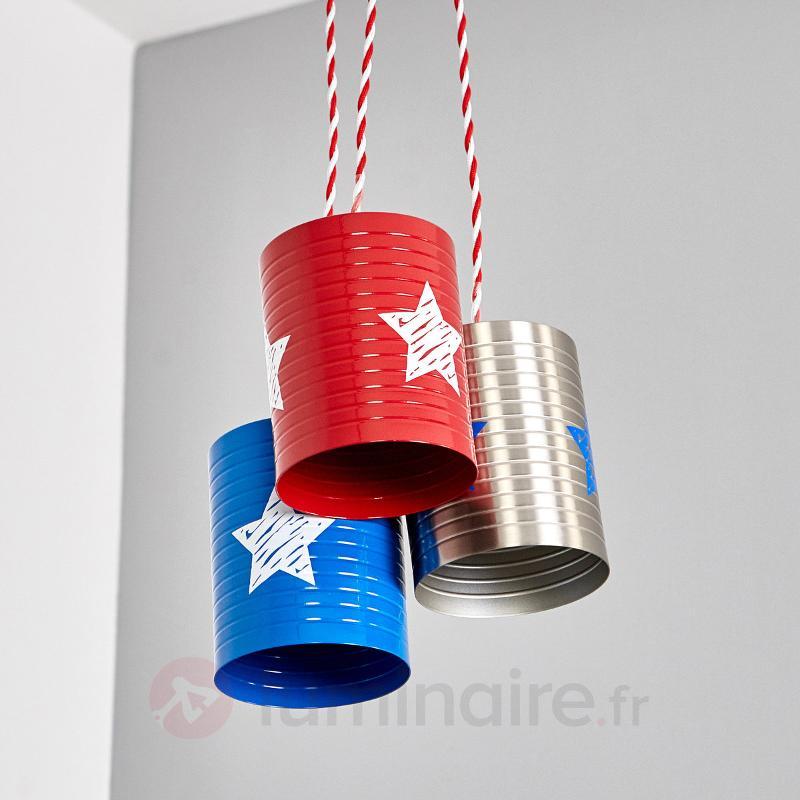 Suspension Star à 3 lampes pour enfants - Chambre d'enfant