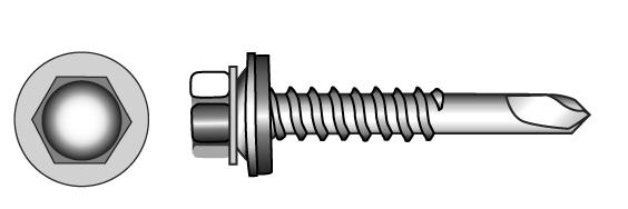 FABO-TOB facade selfdrilling screws - Material A2   A4 A2-Bi-Metal(l)