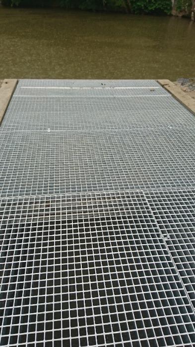 Caillebotis électroforgé - Disponible en acier brut / galva / inox