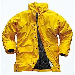 """Jacke """"Flexitex"""" gelb mit Innenfütterung - JACKE Gelb Flex"""