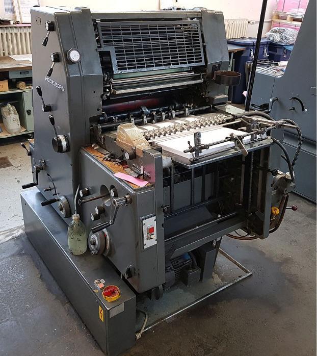 Heidelberg GTO 52+ - Used Machine