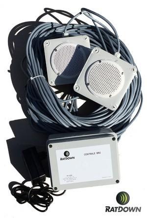 Effaroucheur sonore anti-volatiles BR2 - BR2 RATDOWN®