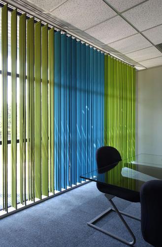 Protection intérieures - Stores à bandes verticales