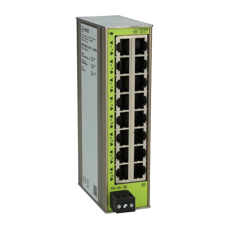 Switch Ethernet non géré TERZ NITE-RS16-1100 - 211800 - null