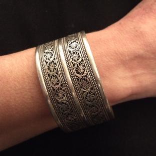 Bracelets - Argent, Népal