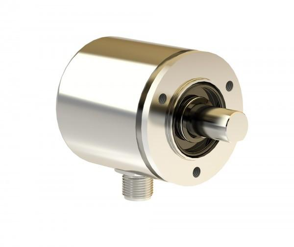 Rotary encoder TBA50 - Absolute rotary encoder with Hall elements and interface Electronics