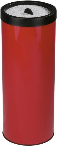 Metall Standascher rot - Z19200007