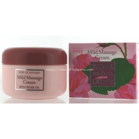 Crème de massage à l'eau de rose - Soin visage pour Femme