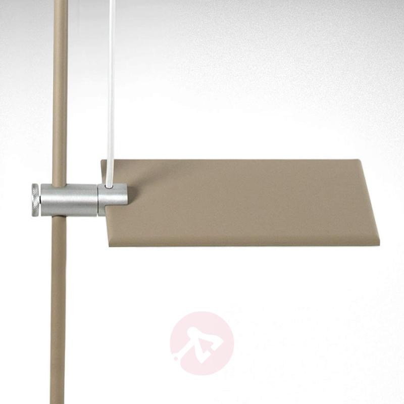 Powerful LED ceiling light GiuUp, grey - indoor-lighting