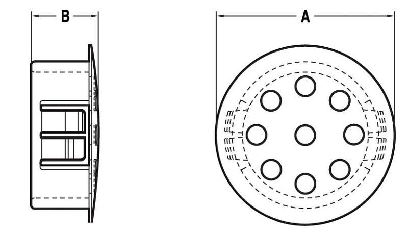 NH442 - Obturateur à ventilation - Obturateurs