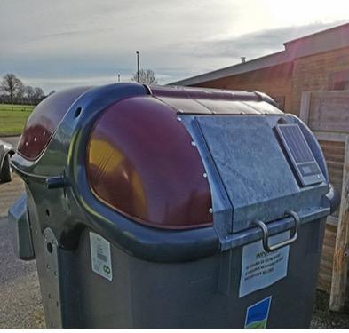 BinBeat - IOT-oplossing voor de toegangscontrole voor uw afvalcontainers