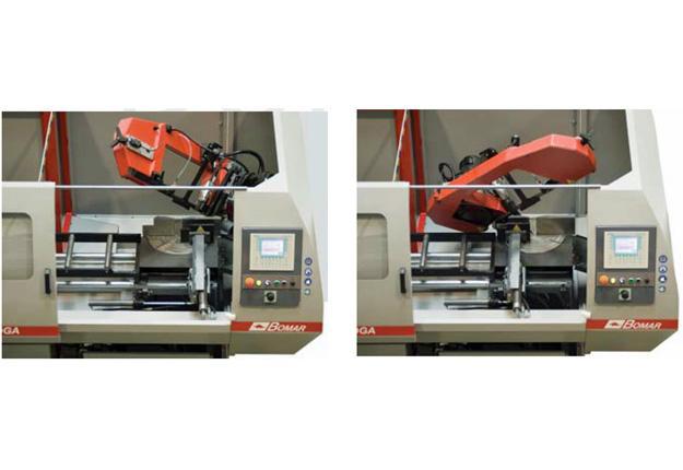 Scie à ruban automatique à CN 2 axes - ERGONOMIC 290.250 DGA