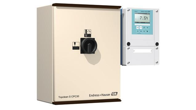 analyse liquides produits - systeme mesure pH nettoyage CPC30