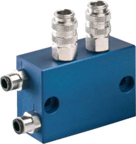 Flexibles microjet® Baukastensystem - 1-fach Zwischenverteiler