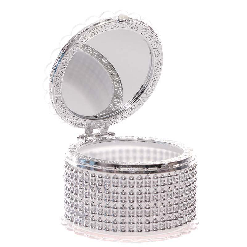 Jewel box with mirror and flower - Jewel box gift item