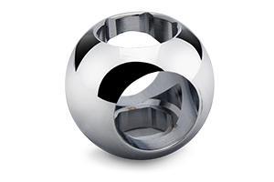 Sfera per regolatore di portata con doppia brocciata... - sfere speciali