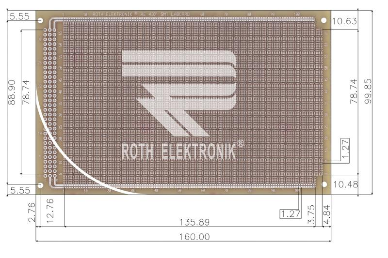 RE437-LF - Prototyping Boards SMD